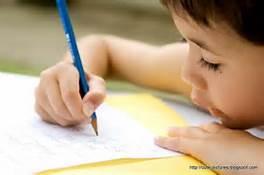 kid writing